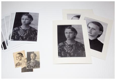 restaurierte Bilder aus 1940er