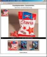 Produktpräsentation - Navigation in hochaufgelösten Bildern