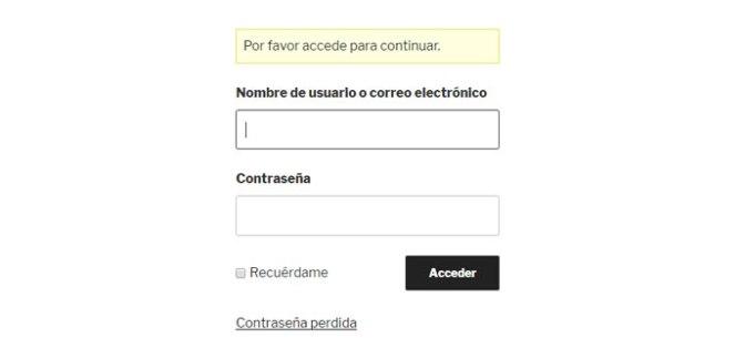 Cambiar estilo de formulario de acceso login en WordPress con plugin Theme My Login
