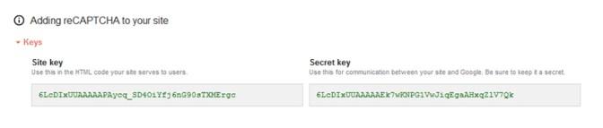 Generar claves reCaptcha en google para proteger formulario de contacto en WordPress