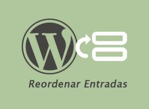 Reordenar u ordenar custom post type en WordPress