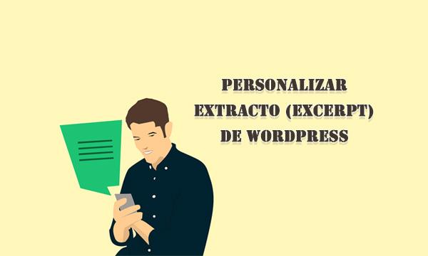 Personalizar el extracto en WordPress con plugin