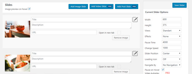 Plugin Responsive Slider para crear un slider o diapositivo en WordPress
