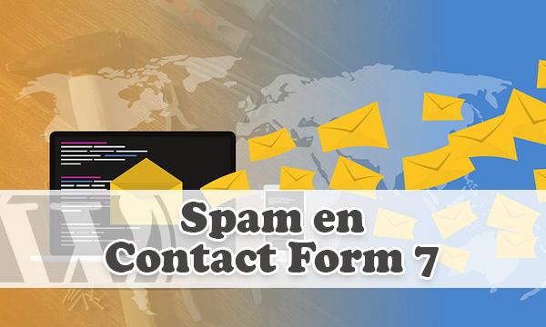 Combatir el spam en Contact Form 7 con plugin en WordPress