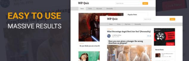 Plugin WP Quiz para crear cuestionarios en WordPress