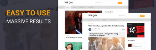 Plugin WP Quiz para crear cuestionarios en WordPress