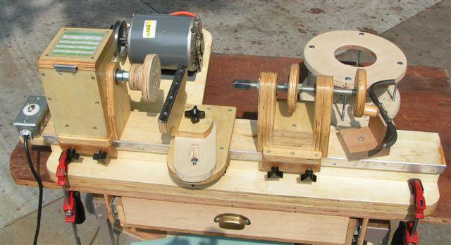 Homemade Wood Turning Lathe