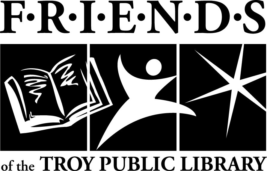 Friends of the Troy Public Library Logo