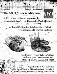 Art Music MKE Concert Flyer 2014