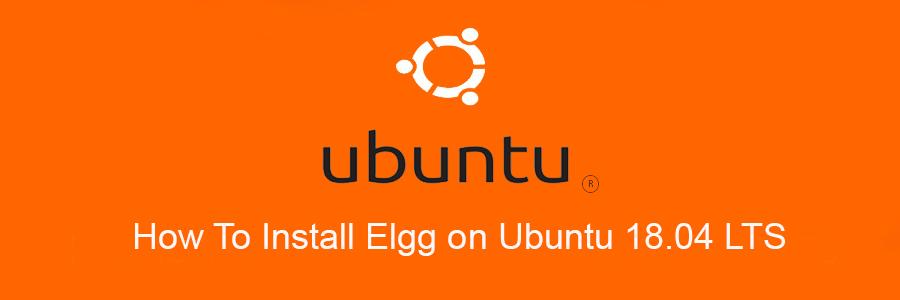 Install Elgg on Ubuntu 18