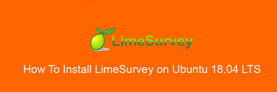 Install LimeSurvey on Ubuntu 18