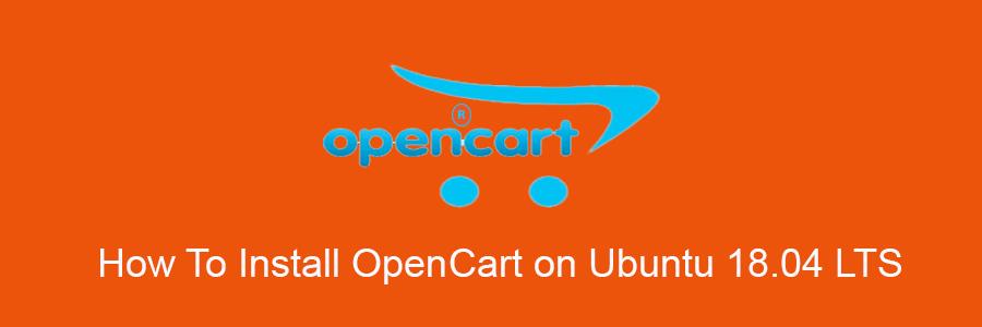 Install OpenCart on Ubuntu 18