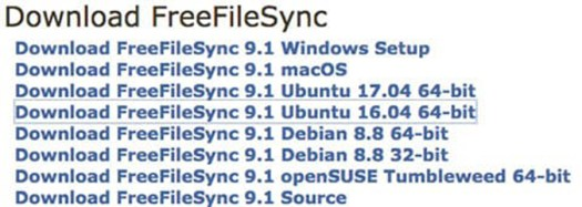 How To Install FreeFileSync on Ubuntu 16 04 - WPcademy