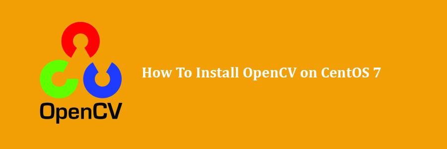 install opencv centos