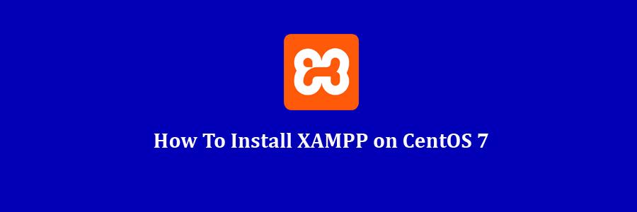 XAMPP on CentOS 7