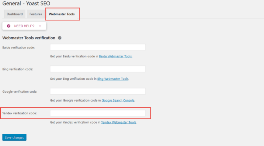 Easy guide to Add Your WordPress Site in Yandex Webmaster