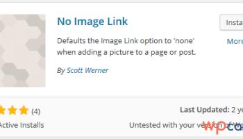 Tự động loại bỏ link hình ảnh trong WordPress một cách đơn giản