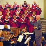 The Sanctuary Choir performs under the direction of Dr. Michael Pohlenz at Wellshire Presbyterian Church in Denver, Colorado.