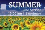 Wellshire Summer Worship Schedule
