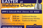 Easter Worship Times 2016