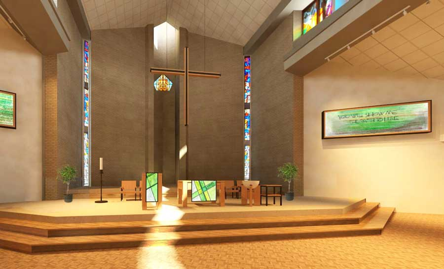 Proposed Chancel Interior