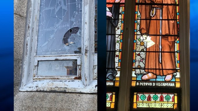 Fall River cathedral vandalized | ABC6