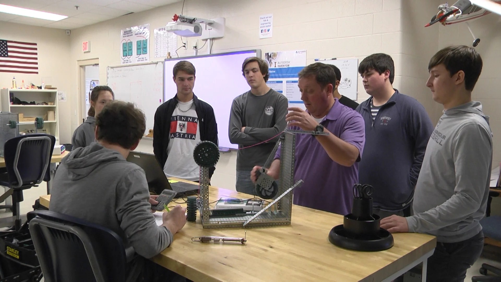 Glasgow High School Students Learn To Design Simple