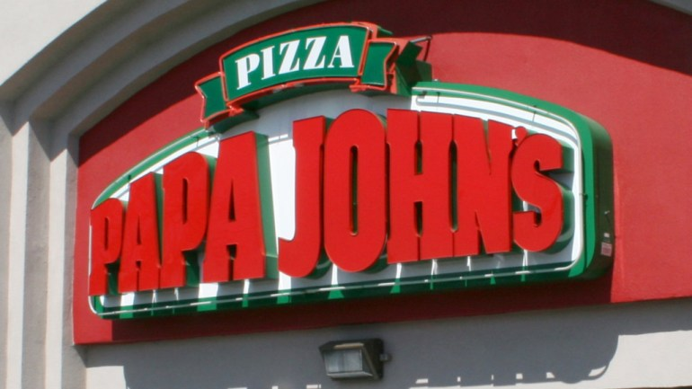 Papa John is in three cities and returns 50% of Wednesday's sales to employees