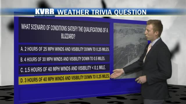 Weather Trivia 12-26-2020 – KVRR Local News