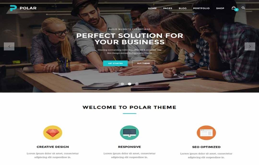 polar-creative-multipurpose-wordpress-theme