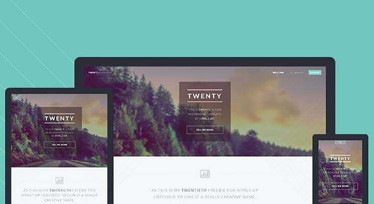 twenty-free_html5_template