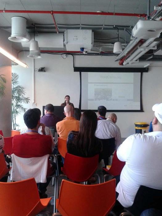 Miriam Schwab sharing WCIL statistics.
