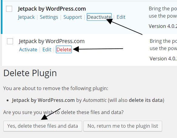 How to Disconnect and Connect Jetpack Account in WordPress