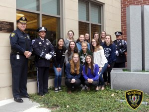 Wilmington Police Honor Guard Receives Donation from WHS 9/11 Committee