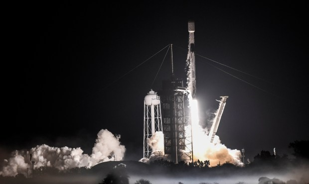 SpaceX sends its 'recycled' rocket booster for record ninth flight, deploys another 60 satellites