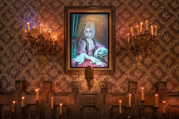 Haunted Mansion ghosts make a few home improvements during Disneyland closure