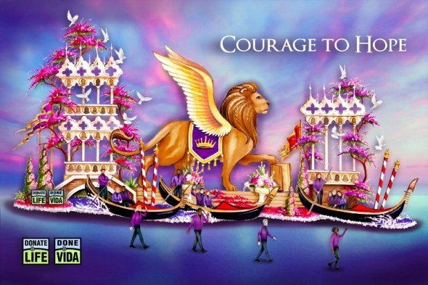 First glimpses of 2022 Rose Parade float renderings emphasize courage, hope, kindness