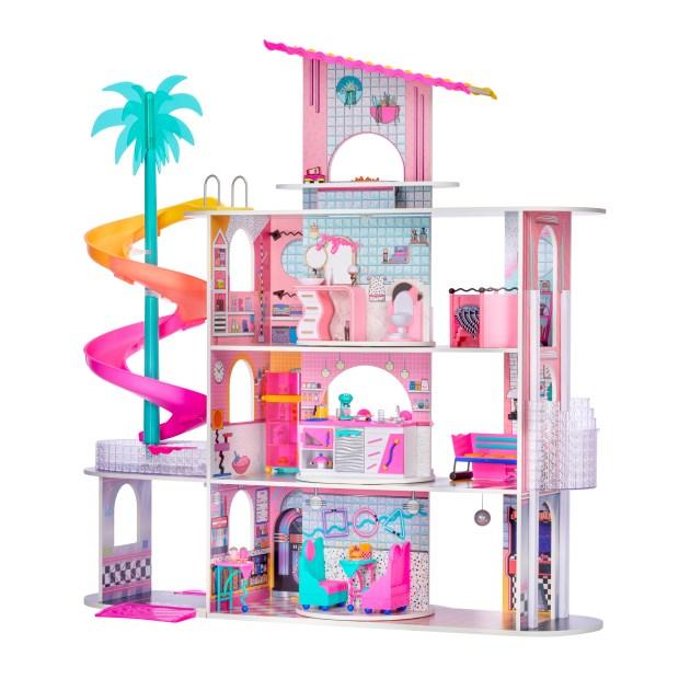 Amid crunch at ports, Chatsworth's MGA puts mega dollhouse on market, urges early holiday shopping
