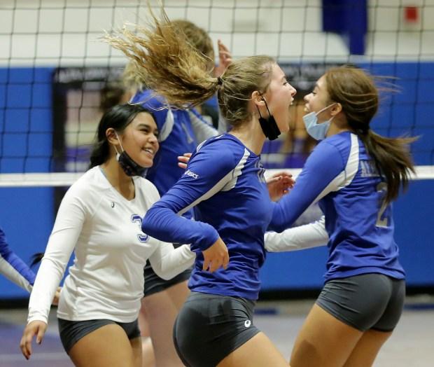Alta Loma girls volleyball team beats Bonita, secures spot in CIF-SS playoffs