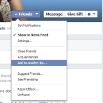 Create Facebook Lists to Send the Right Posts to the Right People