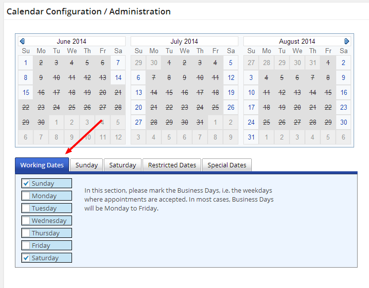 Appointment Booking Calendar Options2