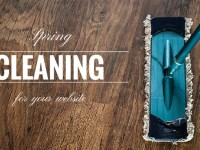 Spring Cleaning for Your WordPress Website