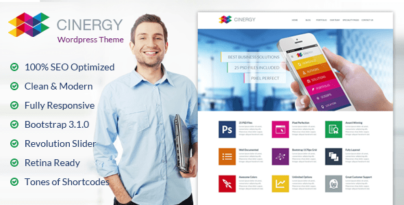 Cinergy WordPress Theme