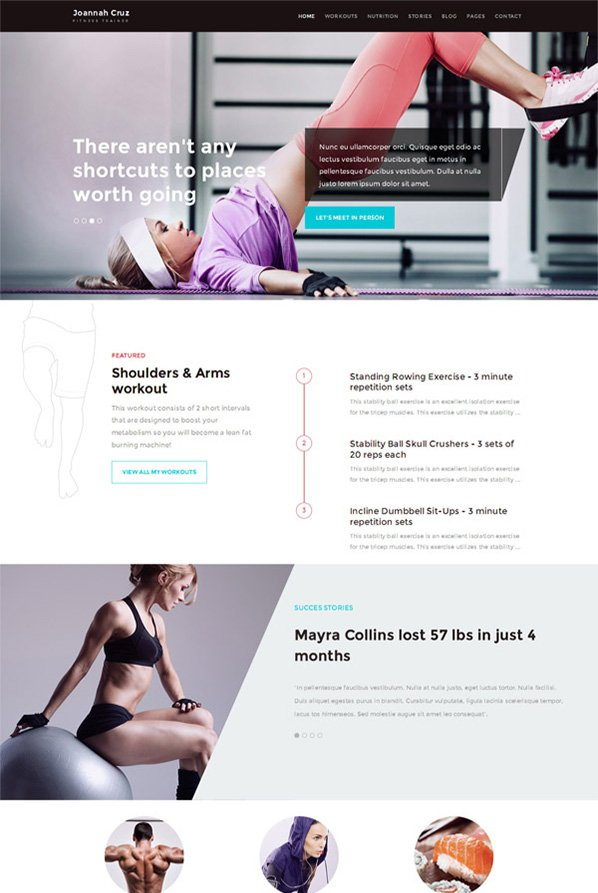 InShape WordPress Theme