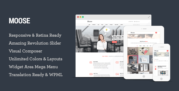 Moose WordPress Theme