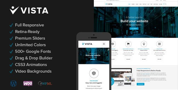 Vista WordPress Theme