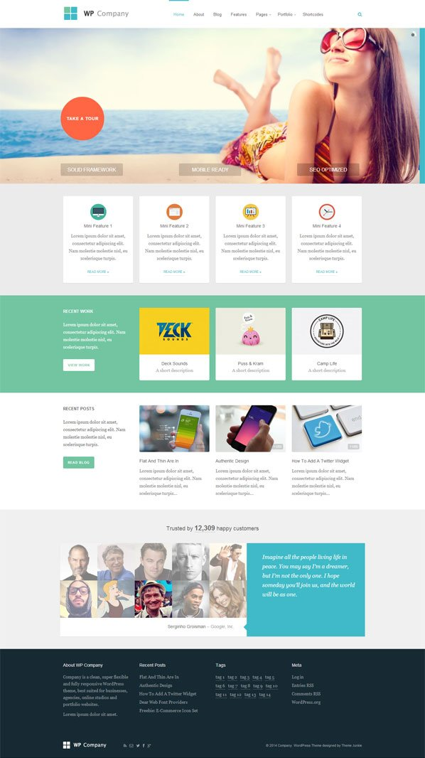 WP Company WordPress Theme