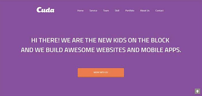Cuda WordPress Theme