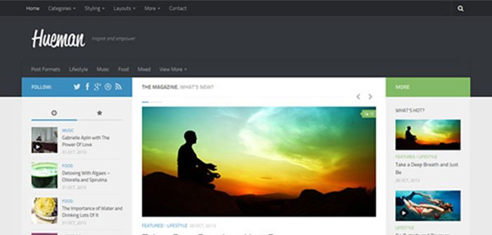 Hueman - Magazine WordPress Theme
