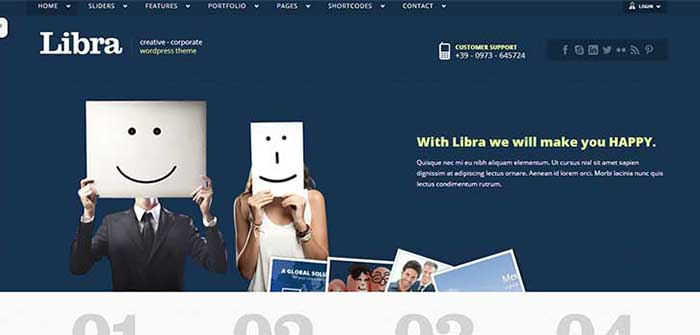 Libra WordPress Theme